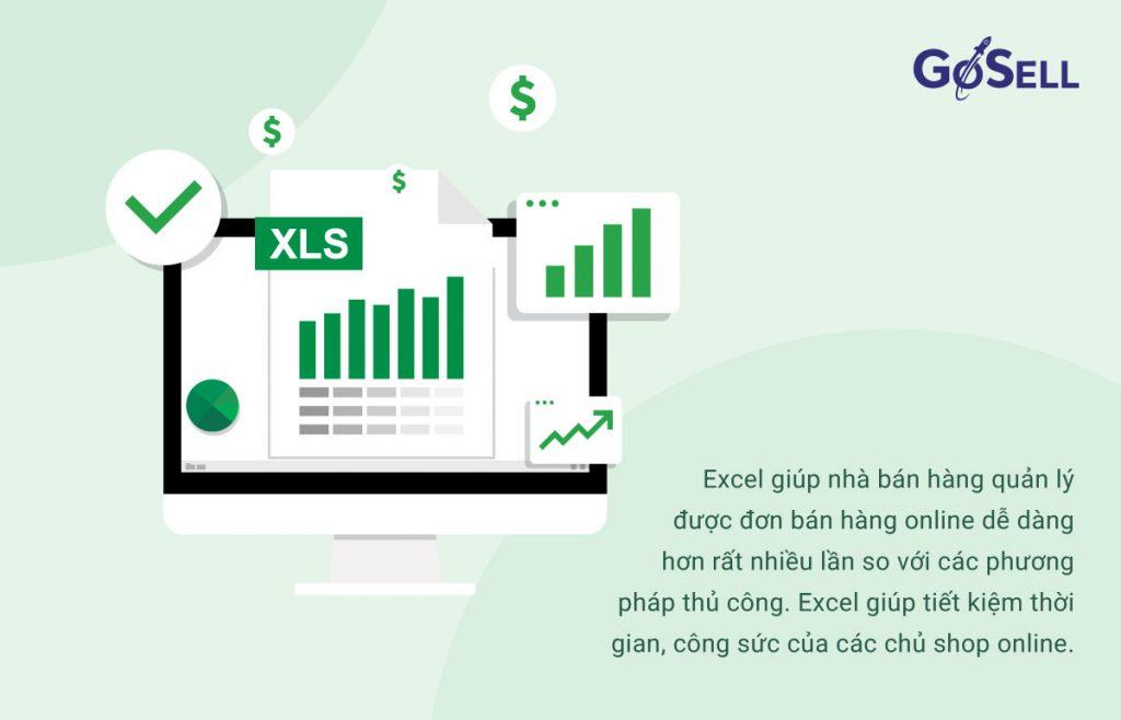 Tận dụng các chức năng trên công cụ Excel