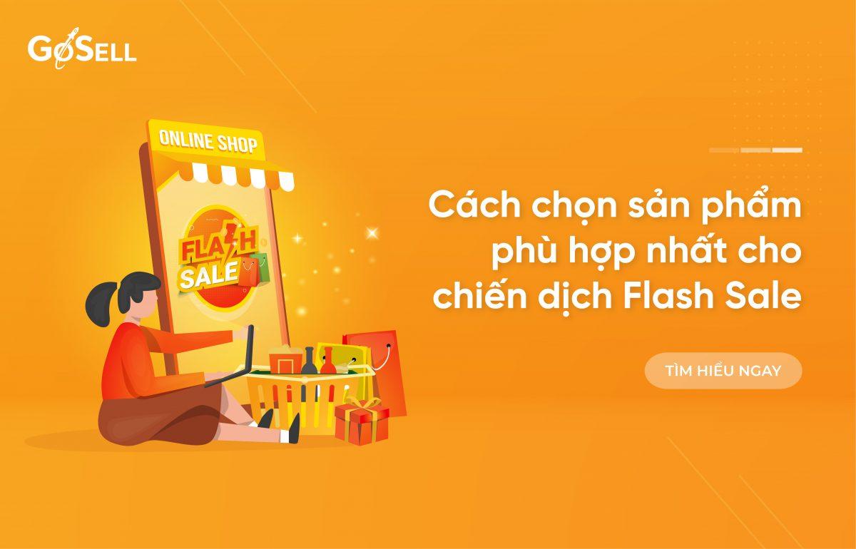 Cách chọn sản phẩm phù hợp nhất cho chiến dịch flash sale