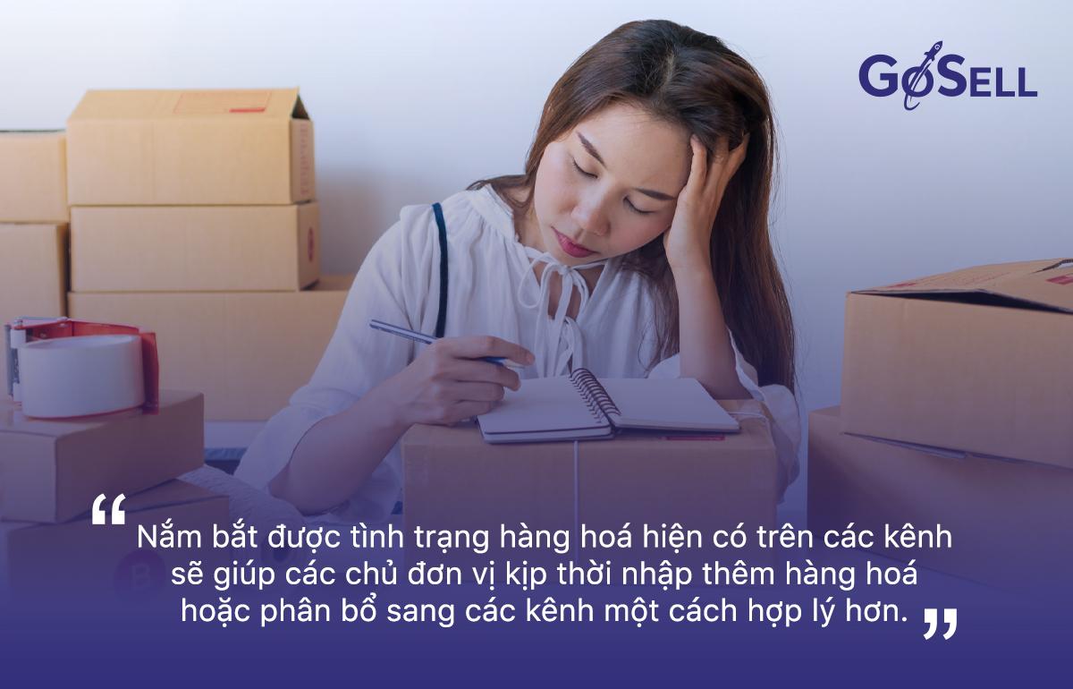 quản lý kho hàng và Omni-channel