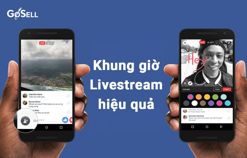 Livestream Facebook vào khung giờ nào để bán hàng hiệu quả?