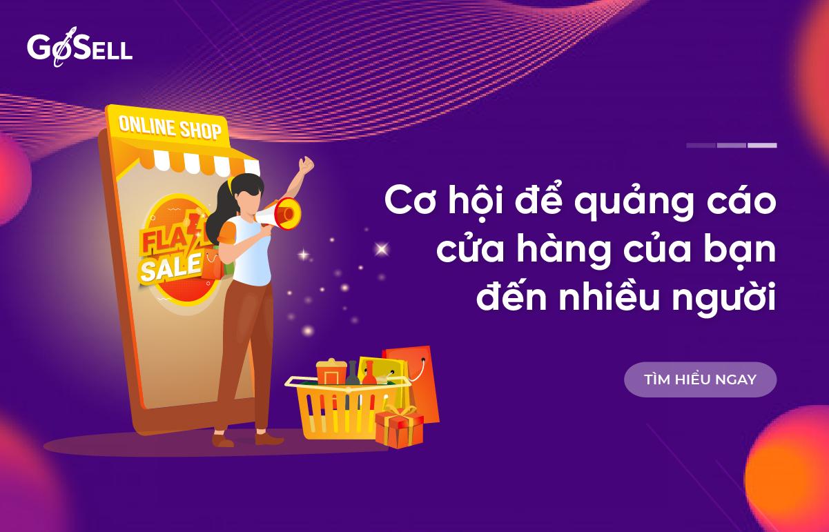 Cơ hội để quảng cáo cửa hàng của bạn đến nhiều người