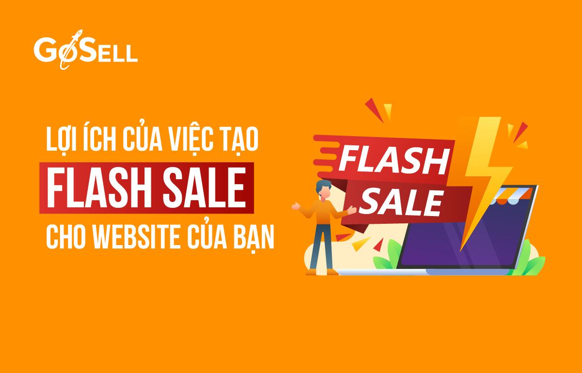 Lợi ích của việc tạo Flash sale cho website của bạn 1