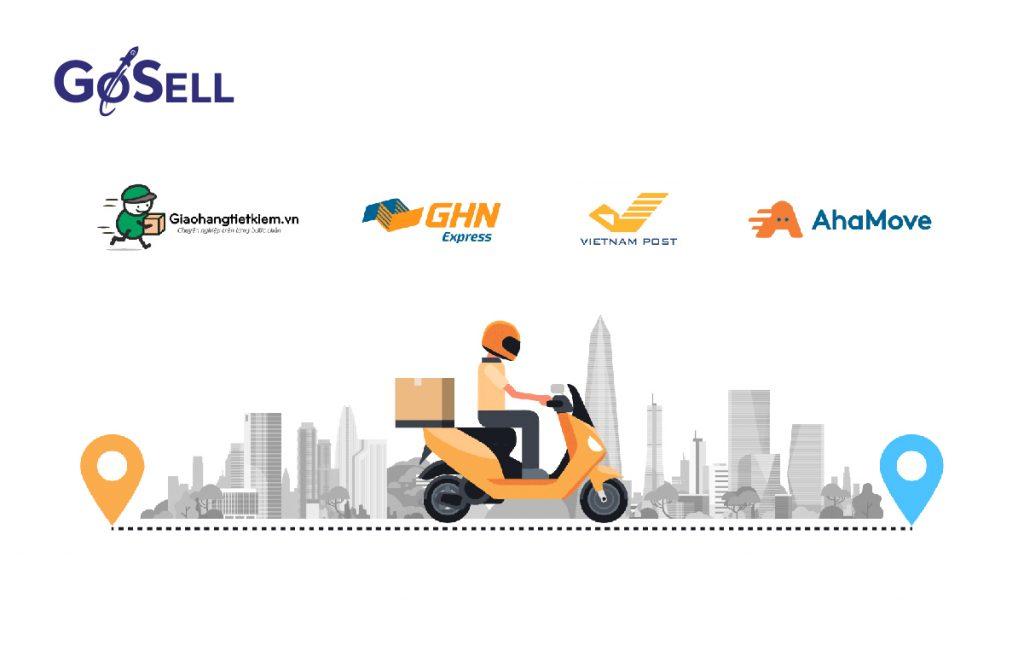 GoSELL và các nhà vận chuyển hàng đầu Việt Nam
