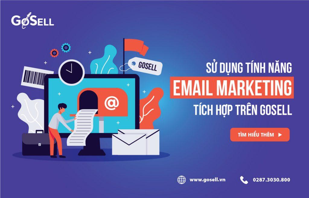 GoSELL giúp bạn quảng bá thương hiệu với Email Marketing