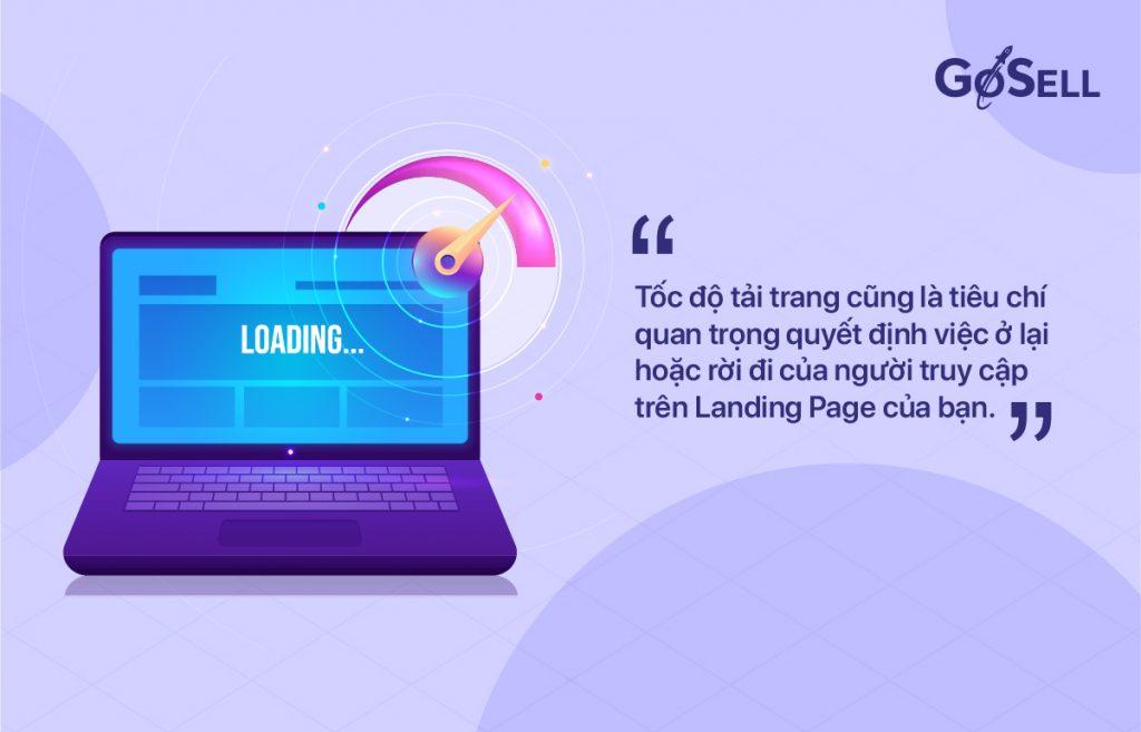 Tối ưu tốc độ cho Landing Page