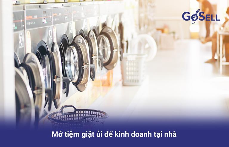 Cách mở cửa hàng giặt ủi
