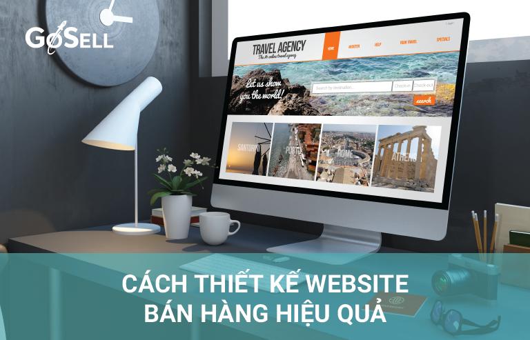 cách thiết kế website bán hàng hiệu quả