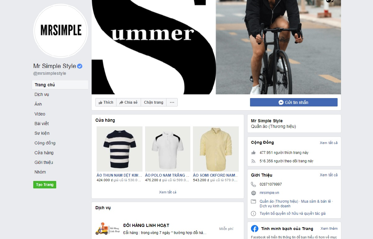 Xây dựng trang Fanpage chất lượng là cách bán hàng online trên facebook hiệu quả