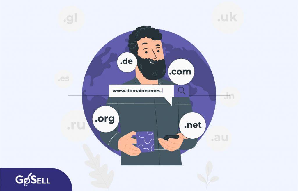 Tên miền tác động đến chi phí tạo website