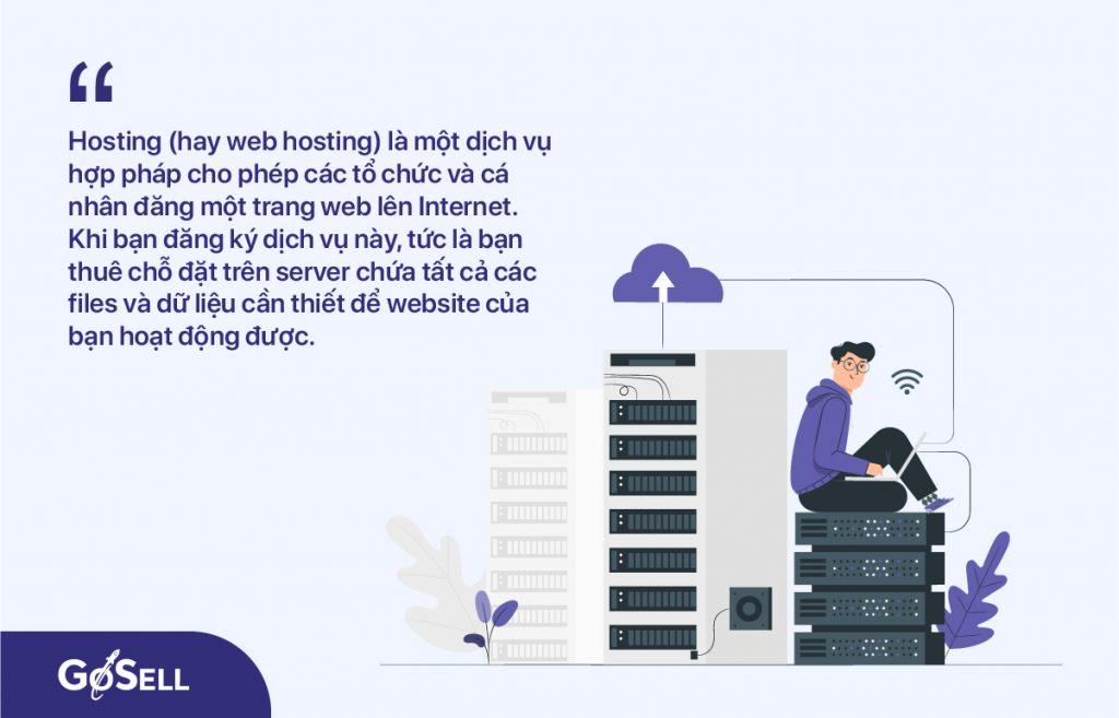 Hosting khi thiết kế website