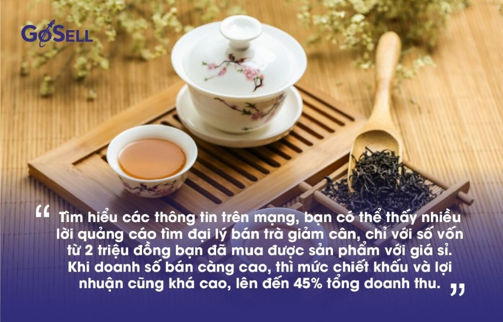 Kinh doanh trà giảm cân