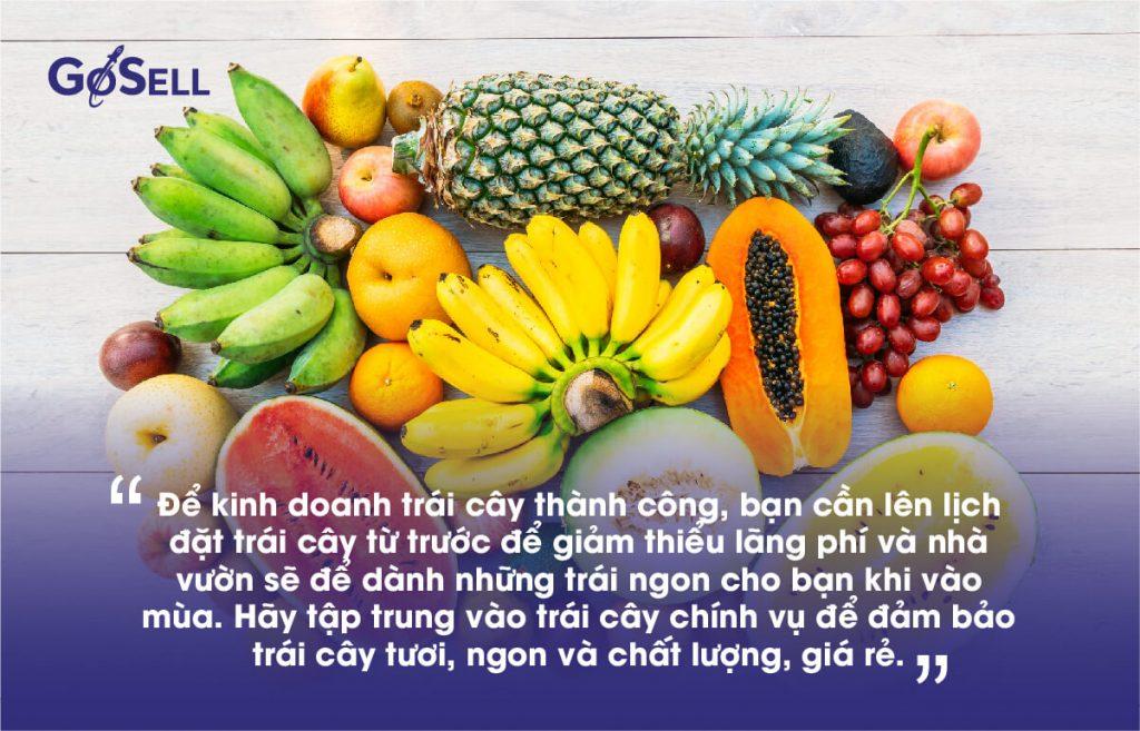 Kinh doanh trái cây