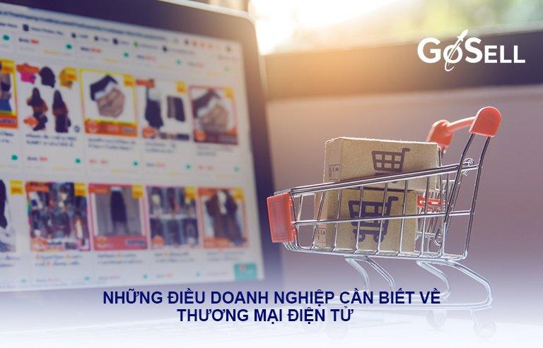 Những điều cần biết về thương mại điện tử