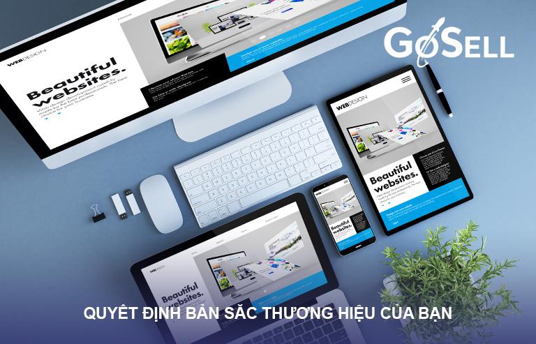 Thiết kế web theo bản sắc của doanh nghiệp