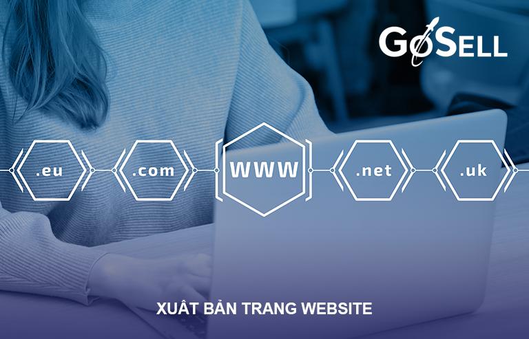 Xuất bản website sau các bước thiết kế website bán hàng
