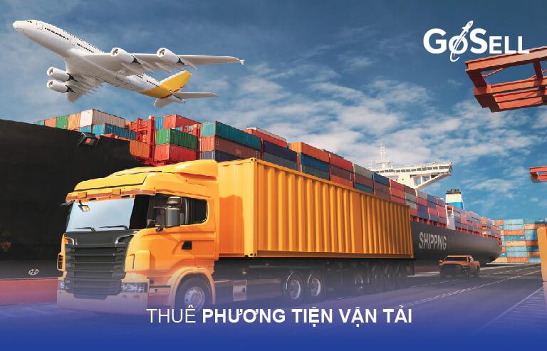 Thuê phương tiện vận tải xuất nhập khẩu