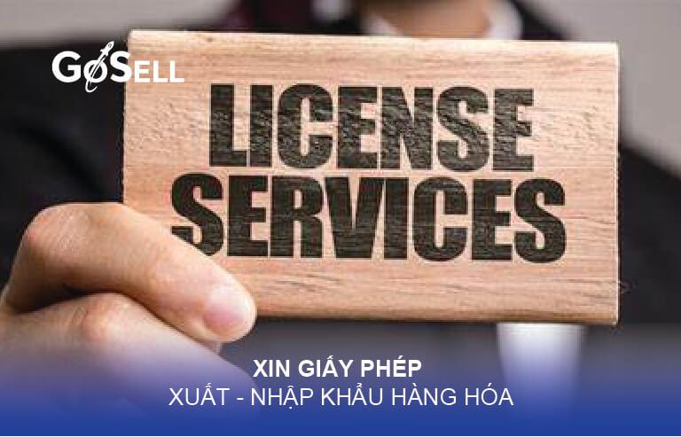 Xin giấy phép xuất khẩu