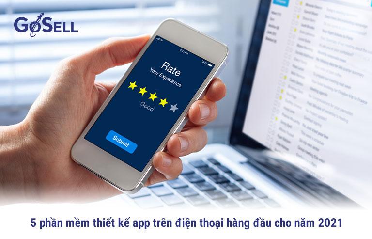 5 phần mềm thiết kế app trên điện thoại