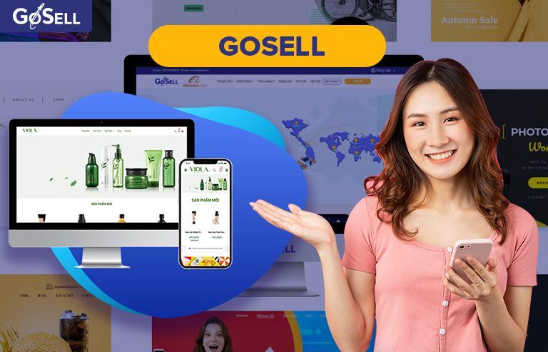 GoSELL công ty thiết kế website chuyên nghiệp