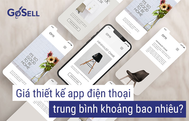 Giá thiết kế app mobile