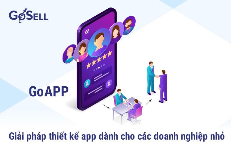 Giá thiết kế app tại GoAPP