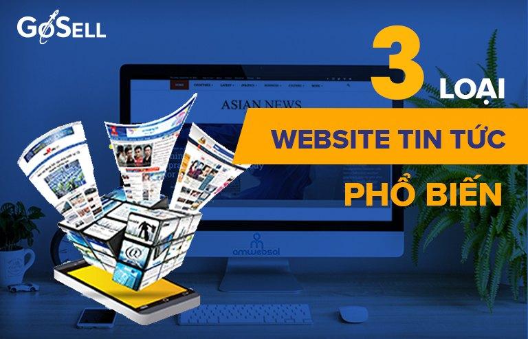 3 mẫu template website tin tức phổ biến