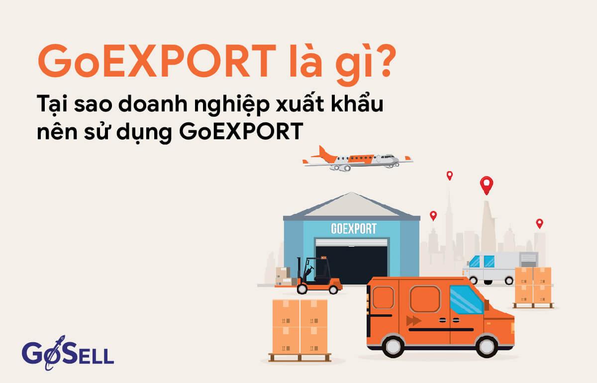 Tại sao doanh nghiệp xuất khẩu nên sử dụng GoEXPORT?