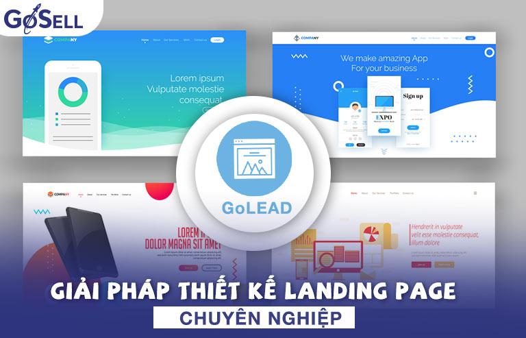 GoLEAD giải pháp thiết kế landing page chuyên nghiệp