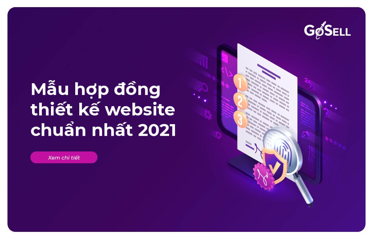 Mẫu hợp đồng thiết kế website chuẩn nhất 2021