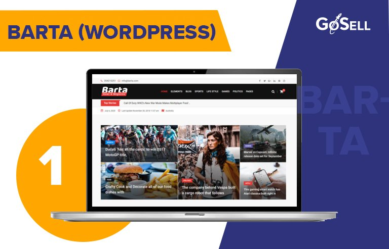 Template website tin tức 4