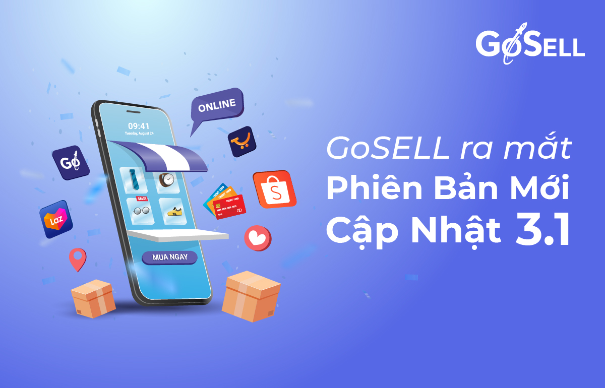 GoSELL ra mắt phiên bản cập nhật 3.1