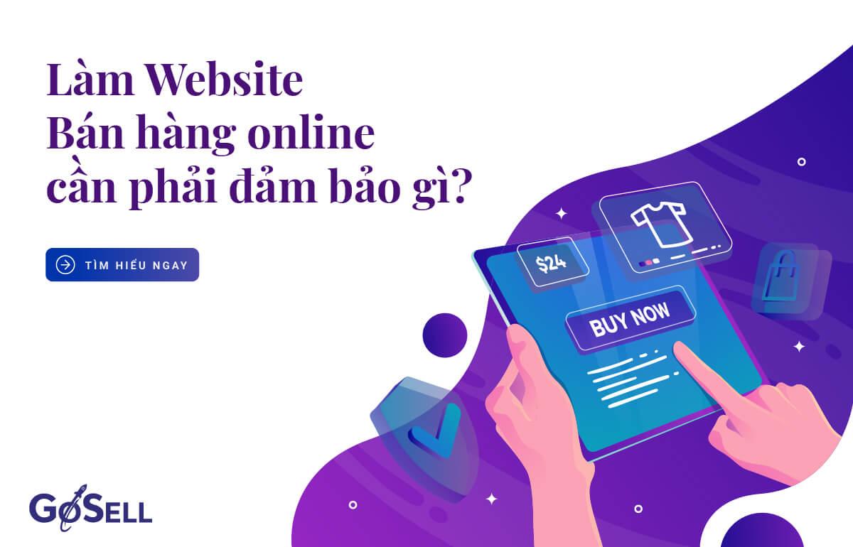 Làm website bán hàng online