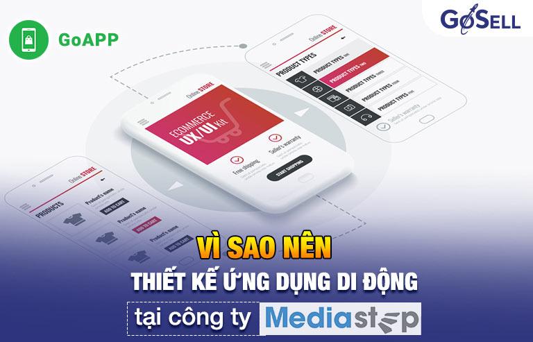 Thiết kế ứng dụng di động tại Mediastep Software