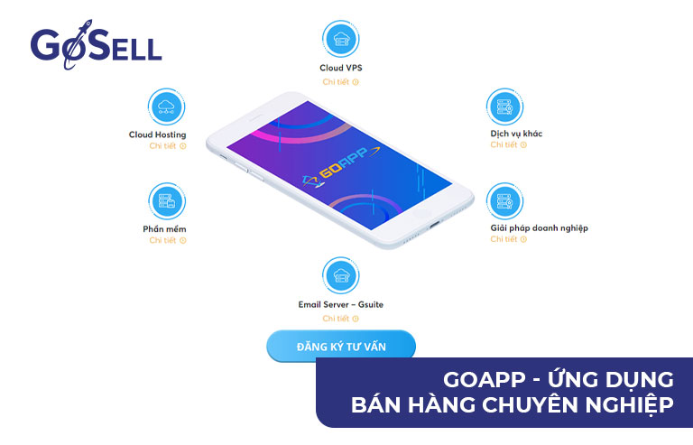 GoAPP ứng dụng bán hàng qua app hiệu quả