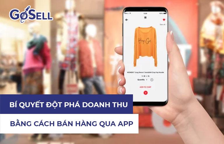 Bán hàng qua app