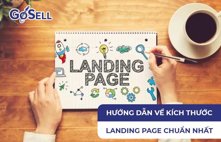 Kích thước Landing Page
