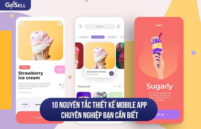 Thiết kế mobile app