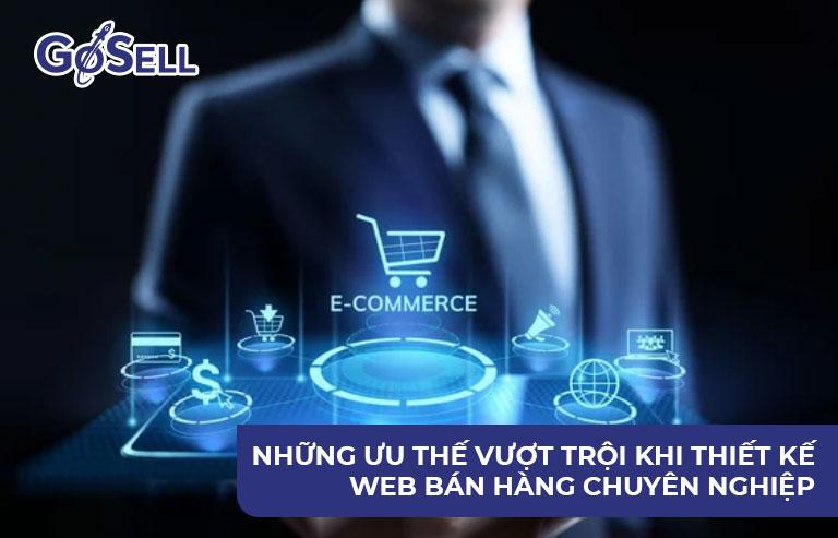 Thiết kế website bán hàng chuyên nghiệp 2