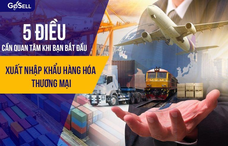 Xuất nhập khẩu hàng hóa thương mại