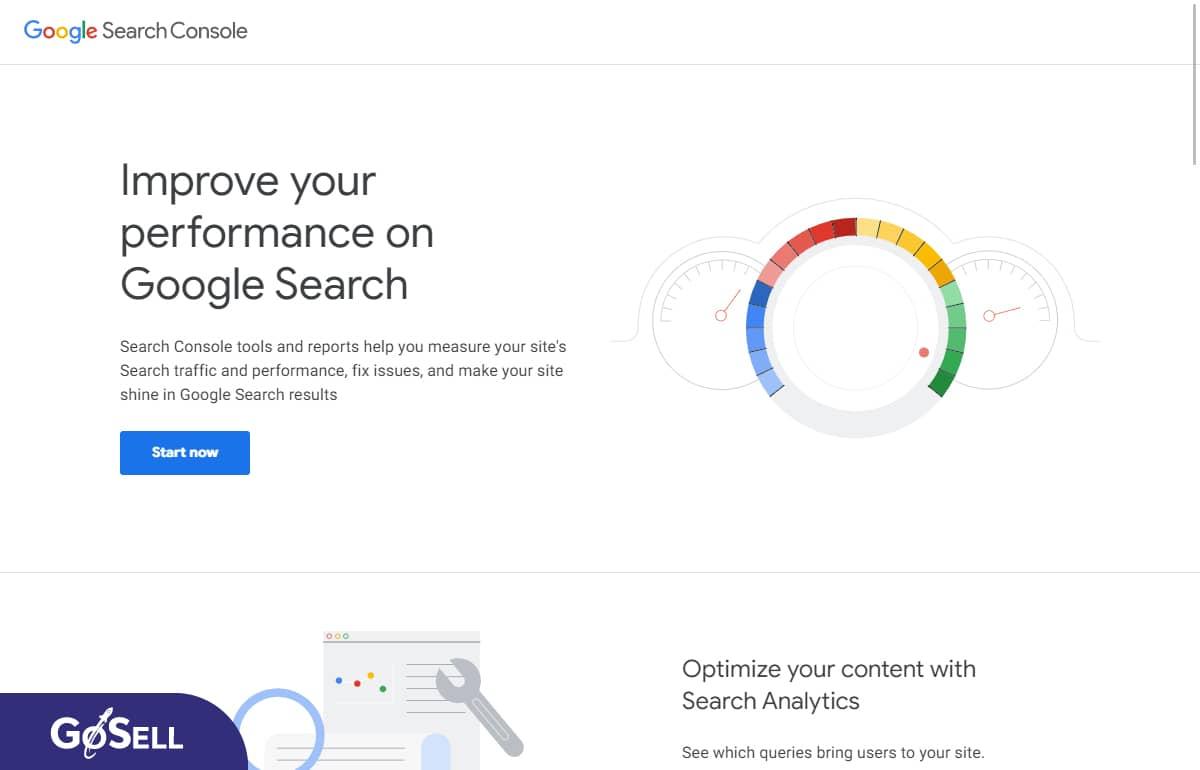 Kiểm tra tối ưu hóa website cùng Google Search Console