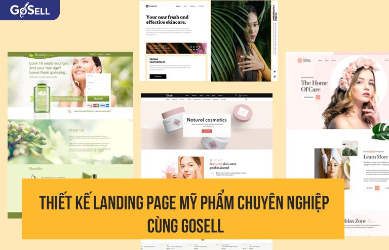 Thiết kế landing page chuyên nghiệp cùng GoSELL