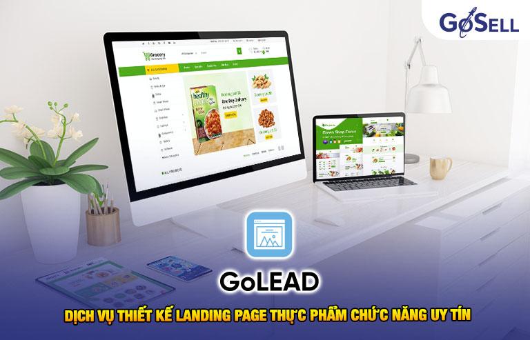 Dịch vụ thiết kế landing page thực phẩm chức năng uy tín