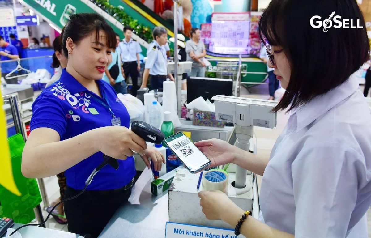 Thanh toán qua ví điện tử/thẻ ATM/chuyển khoản