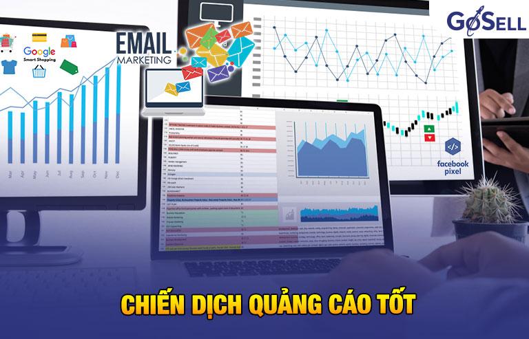 Chiến dịch quảng cáo tốt trong quản lý bán hàng nhanh