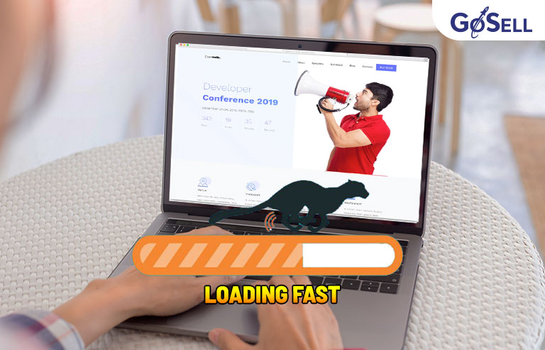 Tốc độ load của landing page