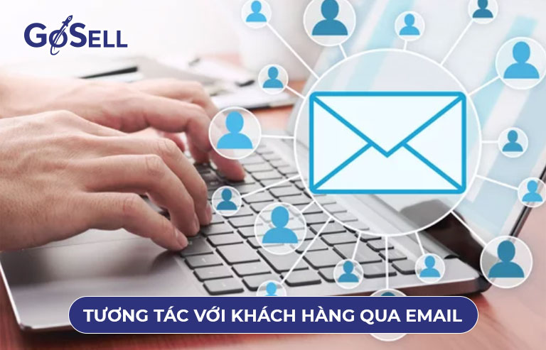 Tương tác với khách hàng qua email