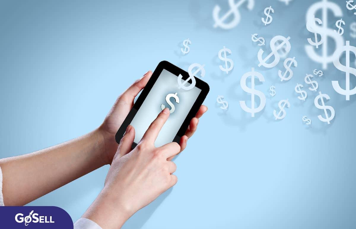 Ứng dụng bán hàng trên điện thoại