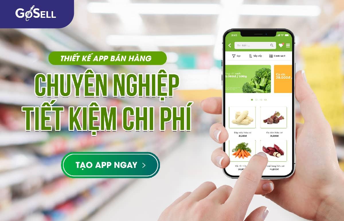 GoAPP - Ứng dụng bán hàng trên điện thoại chuyên nghiệp