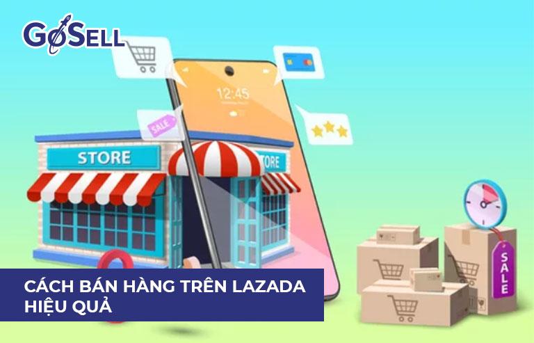App bán hàng trên Lazada 7
