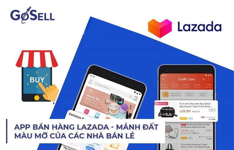 App bán hàng Lazada